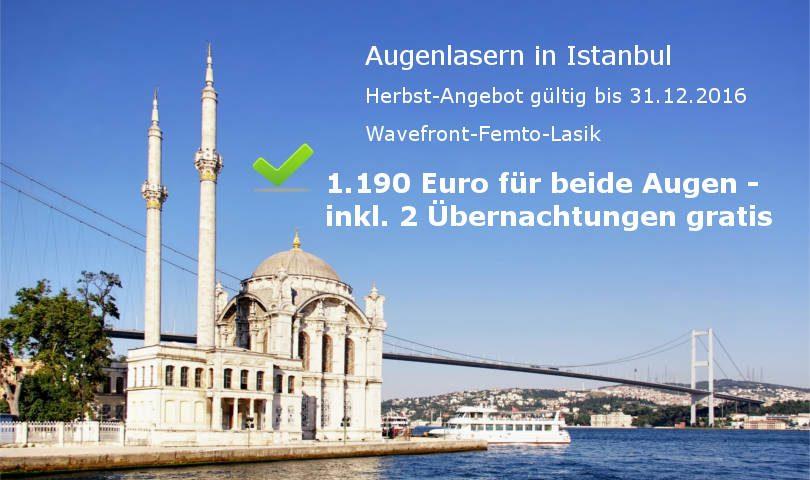 Augenlasern Istanbul - Herbstangebot