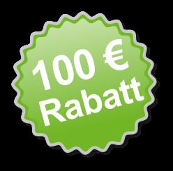 100 Euro Rabatt