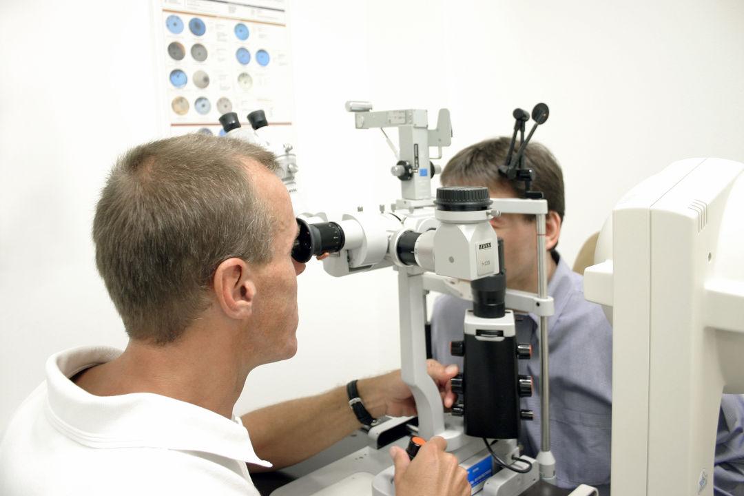 Augenlasern Voruntersuchung
